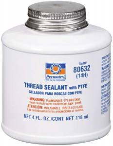 PERMATEX #80632 4 Oz Thread Sealant