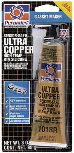 PERMATEX #81878 Ultra Copper Gasket Maker 3oz Carded Tube