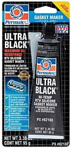 PERMATEX #82180 Ultra Black Gasket Maker 3oz Carded Tube