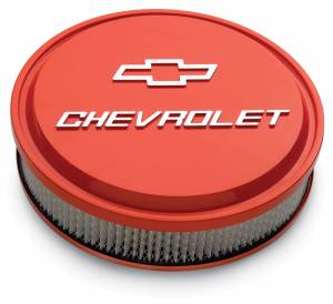 PROFORM #141-831 Slant Edge Bowtie Air Cleaner Chevy Orange