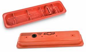 PROFORM #141-918 SBC Center Bolt Valve Covers Orange