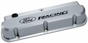 PROFORM #302-139 Ford Racing Valve Covers - Slant Edge