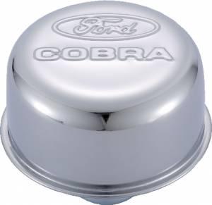 PROFORM #302-225 Ford Cobra Air Breather Cap Chrome Push-In