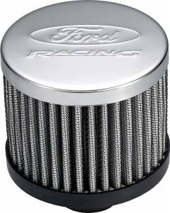 PROFORM #302-236 Ford Racing Air Breather Cap w/o Hood Chrome