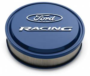 PROFORM #302-381 Slant Edge Ford Racing Air Cleaner Ford Blue
