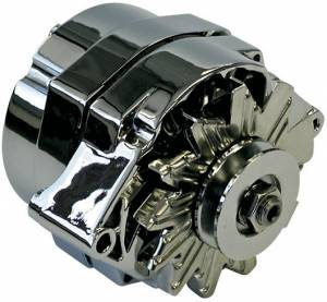 PROFORM #66445.8N 80-Amp Chrome Alternator - GM 1-Wire