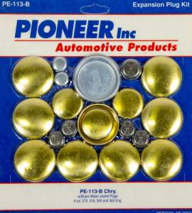 PIONEER #PE-113-B 318 Dodge Freeze Plug Kit - Brass