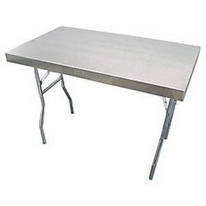 Aluminum Work Table 25x42