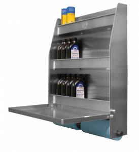 PIT-PAL PRODUCTS #320A Trailer Door Cabinet 27in w X 32in h X 6.75in
