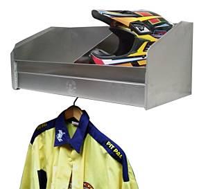PIT-PAL PRODUCTS #331 2 Bay Helmet Shelf 28.25x15x12