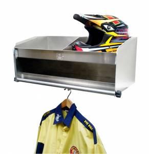 PIT-PAL PRODUCTS #331D 2 Bay Helmet Shelf Delux