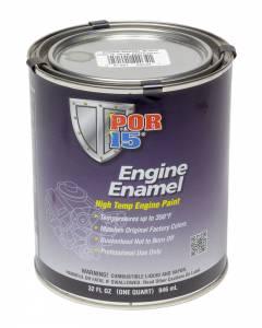 POR-15 #42034 Engine Enamel Black Quart