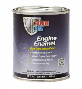 POR-15 #42238 Engine Enamel White Pint