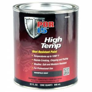 POR-15 #44204 High Temperature Factory Gray Paint Quart
