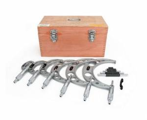 Outside Micrometer Set - 0 to 6in