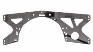 PPM RACING COMPONENTS #PPM1310SN Mid Plate SBC/SBF Alum Mastersbilt Adjustable