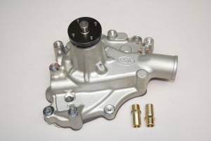 PRW INDUSTRIES INC #1430200 HP Aluminum Water Pump 70-87 SBF 302/351W