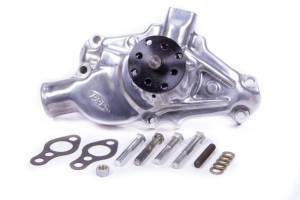 PRW INDUSTRIES INC #1435010 HP Aluminum Water Pump 55-72 SBC Short Polished