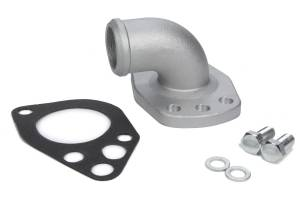 PRW INDUSTRIES INC #5244081 Water Neck Outlet  - 90 Deg. Mopar Cast Aluminum