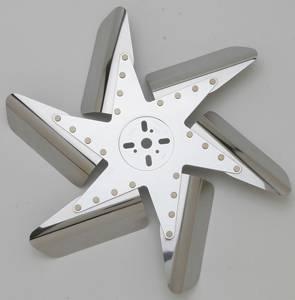 PERMA-COOL #95180 HD Flex Fan Chrome 18in Standard Rotation
