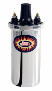 PERTRONIX IGNITION #45001 Flame-Thrower II Coil - Chrome- Oil Filled