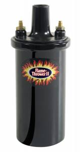 PERTRONIX IGNITION #45011 Flame-Thrower II Coil - Black- Oil Filled