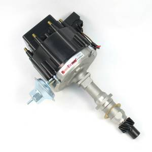 PERTRONIX IGNITION #D1200 Pont. V8 HEI Distributor w/Black Cap