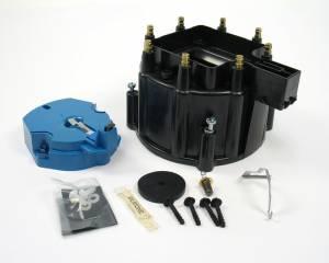 GM V8 Cap & Rotor Kit - Black