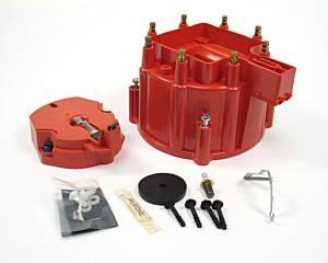 GM V8 Cap & Rotor Kit - Red