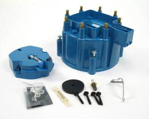 GM V8 Cap & Rotor Kit - Blue