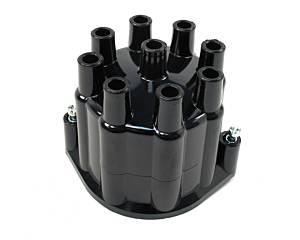 PERTRONIX IGNITION #D650700 Distributor Cap - Black Billet V8 Distributors