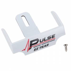 PULSE RACING INNOVATIONS #EZTS101W EZ Tear Shield Mounted White