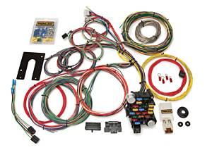 PAINLESS WIRING #10201 28 Circuit Gm Keyed Colm