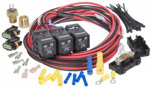 PAINLESS WIRING #30116 Dual Activation/Dual Fan Relay Kit On 200 off 185