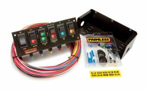 PAINLESS WIRING #50302 6 Switch Panel W/Harness