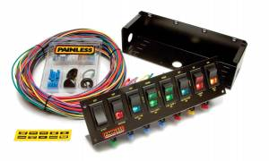 PAINLESS WIRING #50303 8 Switch Panel W/Harness