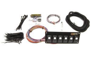PAINLESS WIRING #57104 Trail Rocker - 6 Switch Panel - Dash Mount