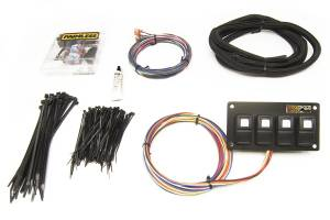 PAINLESS WIRING #57107 Trail Rocker - 4 Switch Panel - Dash Mount
