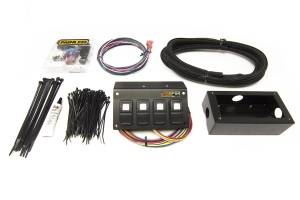 PAINLESS WIRING #57109 Trail Rocker - 4 Switch Panel - Flange Mount