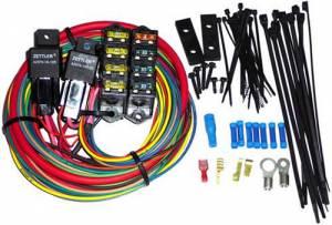 PAINLESS WIRING #70118 7 Circuit HD High Amp Dual 70 Amp Relays