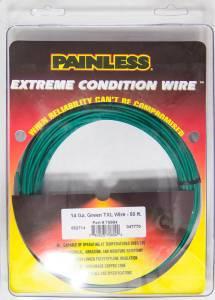 PAINLESS WIRING #70804 14 Gauge Green TXL Wire  50 Ft.
