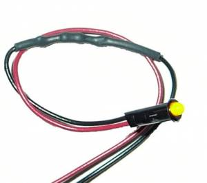 PAINLESS WIRING #80200 1/8in Amber Dash Light