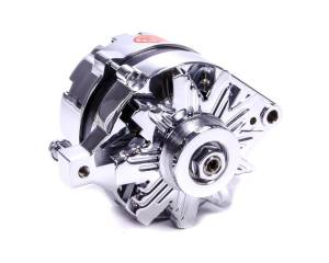 POWERMASTER #17078 Chrome Ford Alternator 75 Amp