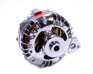 POWERMASTER #17519 Chrome Mopar Alternator 95 Amp Single Pulley