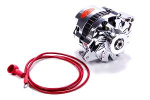 POWERMASTER #378021 CS130 GM 140amp Chrome Alternator