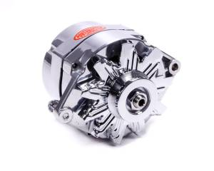POWERMASTER #67293 Polished Delco 150amp Alternator 1 Wire