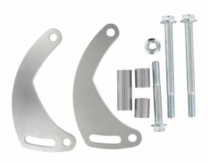POWERMASTER #860 Low Mount Alternator Bracket Kit GM LS1 LH