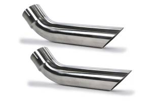 PYPES PERFORMANCE EXHAUST #EVT61 Exhaust Tips Slip Fit 3in Pair (Short)