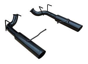 PYPES PERFORMANCE EXHAUST #SFM76MSB 11- Mustang Pype Bomb Axle Back Black