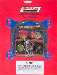 QUICK FUEL TECHNOLOGY #3-205QFT 4150 Rebuild Kit - Non-Stick